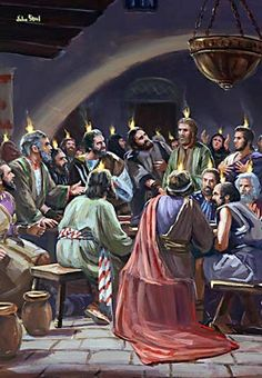 """""""And there appeared unto them cloven tongues like as of fire, and it sat upon each of them. And they were all filled with the Holy Ghost, and began to speak with other tongues, as the Spirit gave them utterance. Bible Quotes Images, Bible Photos, Bible Pictures, Christian Images, Christian Art, Christian Quotes, Acts Of The Apostles, Day Of Pentecost, Saint Esprit"""