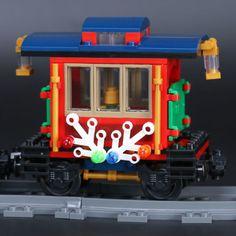 LEPIN 36001 Winter Holiday Train LegoINGlys 10254 Holiday Train, Winter Holidays