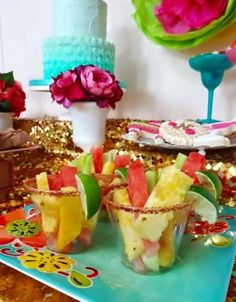 Fruit for Fiesta Baby shower