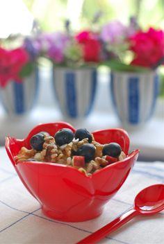 Cinnamon quinoa breakfast alkalizing