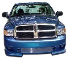 2002-2005 Dodge Ram Duraflex Phantom Front Bumper Cover - 1 Piece