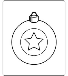 free Christmas Coloring Pages...add sequins...