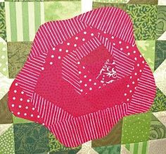 Kim's Big Quilting Adventure: A Rose By Any Other Name . . . . tutorial to make the rose
