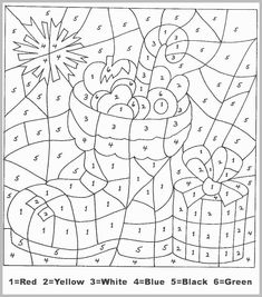 Color by Numbers - Animal Coloring Pages for Kids (part I ...