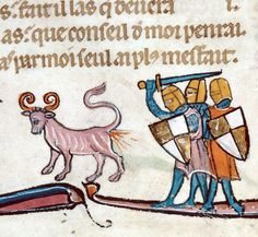 autier de Coinci, Miracles de Notre Dame, France 13th century  Besançon, Bibliothèque municipale, ms. 551, fol. 10v
