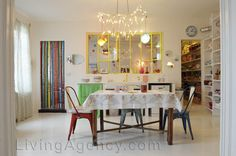 diferente, sala de jantar