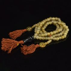 Tibetan Buddhist Beads Bracelet Nepal Handmade Choice Yak of Horn Bone Primary Color Prayer Mala Bracelet Men Jewelry