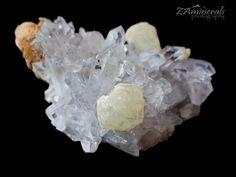 Brandberg Goboboseb Quartz Crystal Cluster Prehnite SE7 | eBay