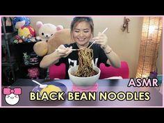 BLACK BEAN NOODLES [자장면/짜장면]!! ASMR | EATING SOUNDS - YouTube