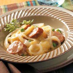 Potato Sausage Supper Recipe photo by Taste of Home                                                                                         ...