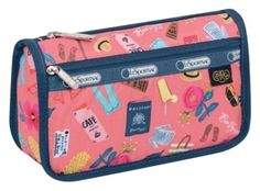 Le Sportsac Travel Cosmetic ' Tropical Voyage '. Free shipping and guaranteed authenticity on Le Sportsac Travel Cosmetic ' Tropical Voyage ' at Tradesy. The travel cosmetic bag features a zipped main cl...