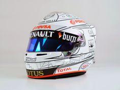 Bell HP7 R.Grosjean Abu Dhabi 2014 by Com'On! Racing - painted by Aero Magic