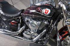 University of Utah Motorcycle! So Awesome. #GoUtes