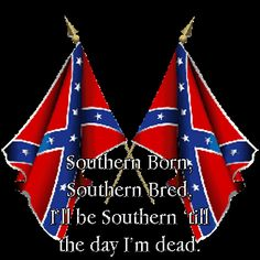 Confederate-Flag.gif image by _rissean - Photobucket Southern Heritage, Southern Pride, Southern Girls, My Heritage, Country Girls, Southern Living, Simply Southern, Confederate States Of America, Confederate Flag