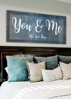 Bedroom wall decor ideas Creative to unique info to produce that dream wall decoration. master bedroom wall decor ideas simple decorating suggestion number generated on 20190308 Home Bedroom, Bedroom Wall, Bedroom Signs, Master Bed Room Decor, Signs For The Bedroom, Master Bedrooms, Bedroom Decor For Couples, Bedroom Ideas, Design Bedroom