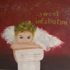 """Sweet Infatuation,"" acrylic, by artist Michelle Reynolds"