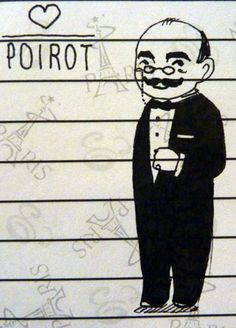 Hercule Poirot by ~Lendelia on deviantART