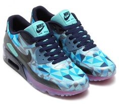 pretty nice 9123c f80ad Nike Air Max 90 ICE Barely Blue Hypebeast, Jordan Basketball, Basketball  Shoes, Nike