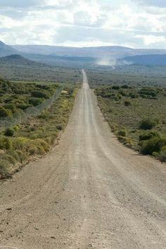 Miles and miles of sweet blow all or so it seems if you disregard the vignettes of incredible scenery and the bossies (bushes) and birds . that's the South African Karoo All Nature, My Land, Countries Of The World, Continents, Countryside, South Africa, Beautiful Places, Scenery, Places To Visit