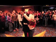 U.S. Marine Comes Home from Afghanistan, Surprises Girlfriend at Movie Theater on Valentine's Day