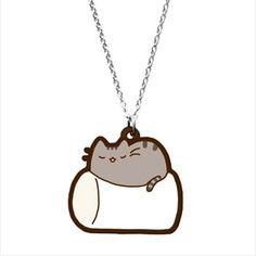 Marshmallow Cat Nap Necklace =^.^=