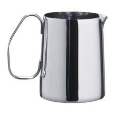 MÅTTLIG  Milk-frothing jug, stainless steel  $5.99