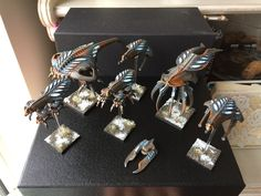 Scourge army by WargamerSami Painting Competition, Drop Zone, Gaming, Army, Miniatures, Military, Ship, Technology, Cat