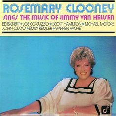 Rosemary Clooney Sings the Music of Jimmy Van Heusen - CD 1987 Concord Jazz #ShowVocals