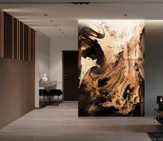 Фотообои Панно яркая волна 18715 Antonio Mora, Wallpaper, Artwork, Work Of Art, Wallpapers, Wall Decal