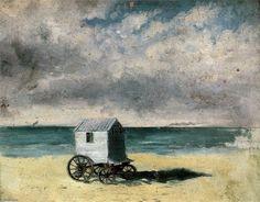 "James Ensor - ""Bathing Hut"", 1876"