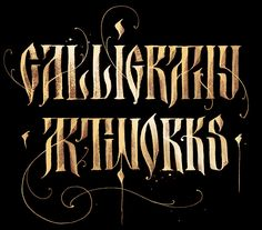 Calligraphy artworks on Behance