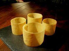 """recette Réaliser des """"cercles"""" de feuille de brick..."""