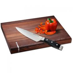 10% off. Best Kitchen Wooden Chopping Board by Zepter. Made of solid walnut wood.