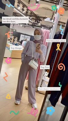 Modern Hijab Fashion, Street Hijab Fashion, Hijab Fashion Inspiration, Muslim Fashion, Look Fashion, Korean Fashion, Casual Hijab Outfit, Hijab Chic, Top Mango