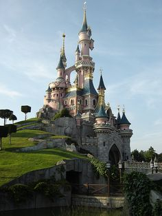 Disneyland PARIS! To save time maybe I should just say Disneyland in ANY country. I am jealous of their castle at the one in Paris though...