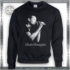 Chester Bennington Linkin Park Sweatshirt swm001 //Price: $24 Gift Custom Tee Shirt Dress //     #Desains #Tees #Shirt #Dress