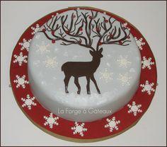 reindeer — Christmas  La Forge à Gâteaux
