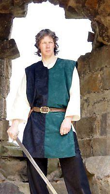 Details about Medieval/LARP Fancy Dress KNIGHTS SURCOAT/COLOURS