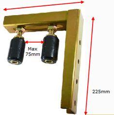 Sliding Gate Kit with Wheels Sliding Fence Gate, Front Gates, Front Gate Design, Fence Design, Gate Wheel, Main Gate, Driveway Gate, Security Door, Garage