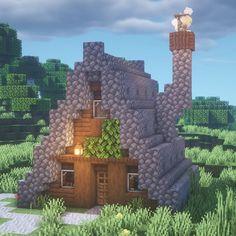 Images Minecraft, Easy Minecraft Houses, Minecraft City, Minecraft Room, Minecraft Plans, Minecraft Survival, Minecraft Decorations, Minecraft Construction, Amazing Minecraft