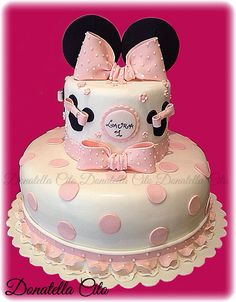 Minnie cake ( idea dal web )