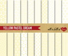 I just released Yellow Digital Backgrounds on Creative Market.