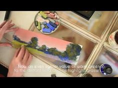 Pastel Painting Step-by-Step - Landscape How-To with Bethany Fields Chalk Pastel Art, Pastel Artwork, Chalk Pastels, Chalk Art, Oil Pastels, Pastel Paintings, Horse Paintings, Pastel Drawing, Painting & Drawing