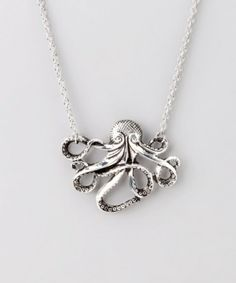 Silver Octo Necklace from ZAD by dollie
