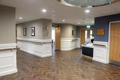 Orac Decor panel mouldings have been  used at this care home