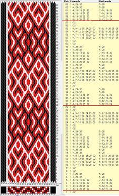 32 tarjetas, 3 colores,repite cada 28 movimientos // sed_884a diseñado en GTT༺❁