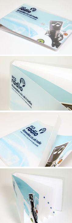 Brochure design - IFCS Radio by Octopus Creative Design, via Behance