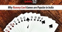 Why Rummy Card Games are Popular in India