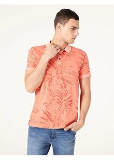 Polo Floral – Aramis Dark Floral, Mens Tees, Button Down Shirt, Men Casual, Shirts, Tops, Fashion, Suits, Best Outfits