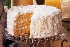 Worlds Best Coconut Cake Recipe